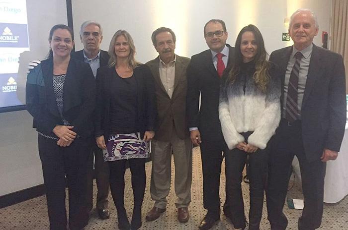 Roberto Bertino, Fundador da Nobile Hotéis, juntamente com a Diretoria da Arco Administradora