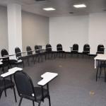 São quatro salas para reuniões