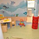 Sala para crianças menores de três anos