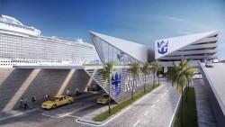 Novo terminal da Royal em Miami abre esse ano; previsão de 1,8 milhão de passageiros