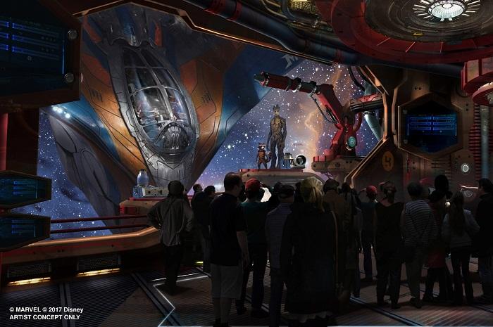 Atrações com os Guardiões da Galáxia fazem parte das novidades da Disney para os próximos anos