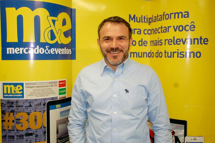 Jair Pasquini, organizador do Meeting Brasil