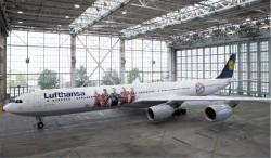 Lufthansa apresenta novo design do Airbus FC Bayern; veja