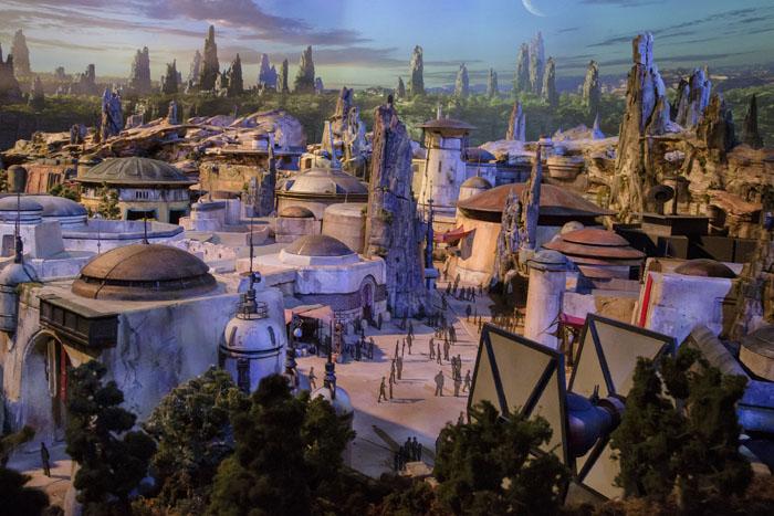 Espaços são inspirados no universo retratado nos filmes da saga