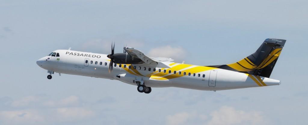 Voos serão operados com as aeronaves ATR 72, com capacidade para 68 passageiros