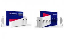 Latam oferece pontos de informação em Brasília e Congonhas