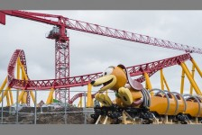 Toy Story Land recebe primeiro carro do Slinky Dog Dash