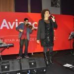 A cantora Graça Cunha animou os convidados