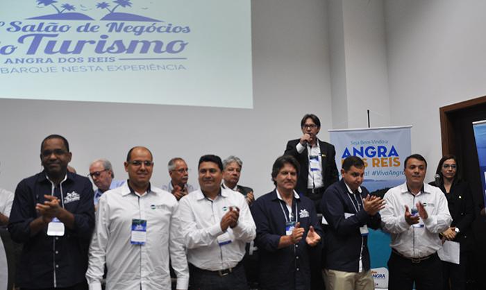A equipe do Angra Convention e apoiadores