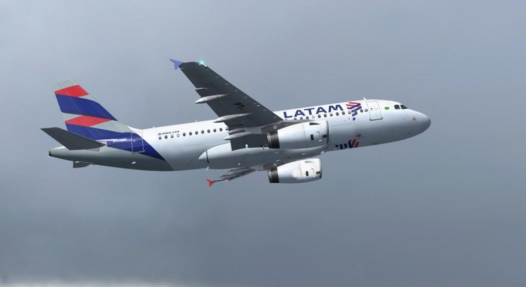 Airbus A319 Latam Brasil
