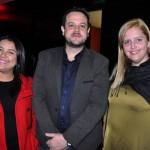 Aline Novaes, Gabriel Lago e Flávia Zulzke, da Avianca Brasil