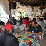 Almoço no restaurante Recanto da Lagoa