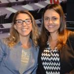 Annick Genies, da TBO Holidays, e Helena Bicalho, da Personal Turismo