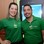 Carina Gazel e Anderson Santos, da Localiza