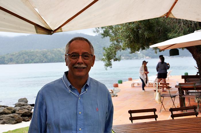 Carlos Henrique Vasconcelos, o Perinha, presidente da TurisAngra
