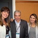 Carolina de Souza, Maria Beluco e José Pereira da Discover Cruises