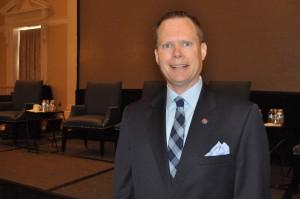 Christopher Minner, VP Executivo do Aeroporto de Tampa