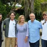 Equipes da TurisAngra, Angra CVB com a empresária Irene Sangery na ilha de Caras
