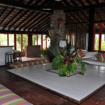 Espaços interiores para recepção de grupos