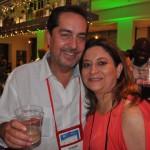 Fernando Harb, de Fort Lauderdale, e Veronica Zumarraga, da TMC
