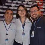 Fernando do Prado, Amanda Rousset e Fernando Gimenez, da Trend