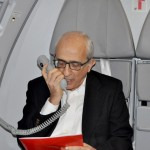 José Efromovich agradece todos os passageiros presentes a bordo