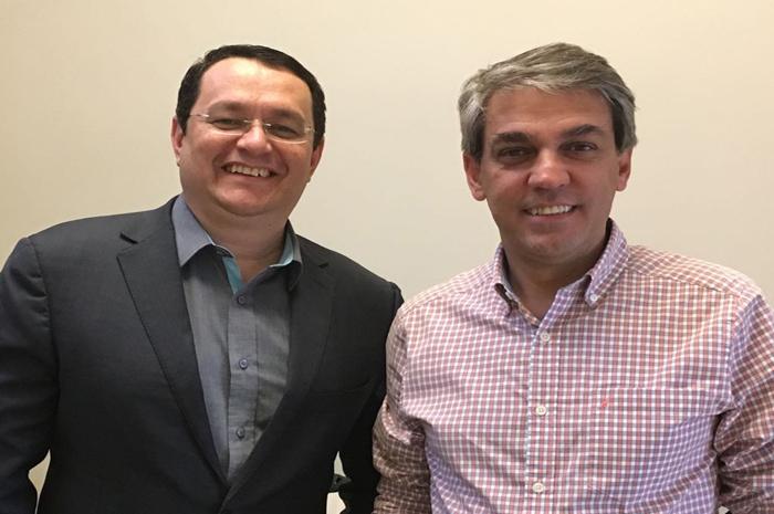 Lucio Oliveira e Fernando Santos