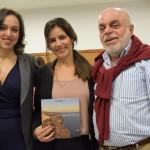 Manoela Andrade, Shimene Asanuma e Ilya Hirsch, da Qualitours