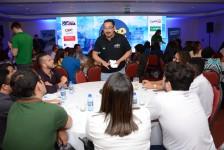 Roadshow M&E: Speed Networking estreita laços entre agentes e fornecedores; fotos