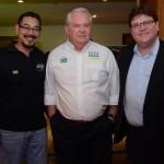 Marcel Ito, da Shift, Roy Taylor, do M&E, e Fernando Ferrero, da Setur-BA
