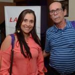 Marcia Rita, da Beach Viagens, e Antônio Carlos Sant, da ACE Viagens