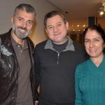 Marcos Rodrigues, da MMTGapnet, Álvaro e Valéria Simonato, da Avtur Viagens