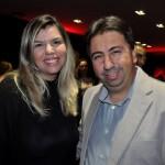 Mariana Azevedo, da MMTGapnet, e Marcelo Paolillo, da Flytour