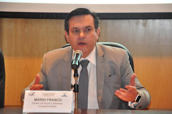 Mario Franco, da Royal Caribbean no Brasil assume no lugar de Estela Farina