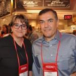 Miriam Silva, da CH Travel, e Ramon Rabello, da MCA