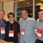 Miriam Silva e Eduardo Bittencourt, da CH Travel, com Mucio de Paula e Ramon Rabello, da MCA