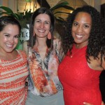 Monica Silva, Andrea Gabel e Brandee Bolden, do Visit St Pete & Clearwater