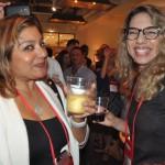 Nancy Burgos e Joyce Rego, da Avianca Brasil