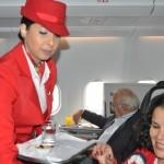 O serviço de bordo da Avianca Brasil