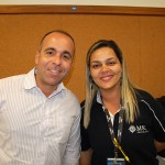 Paula Sperle e Rodrigo Haddad, da MSC