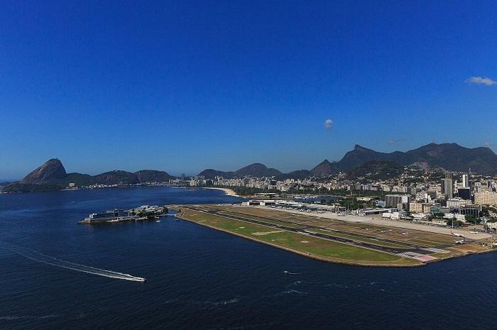 Aeroporto Santos Dumont, no Rio de Janeiro