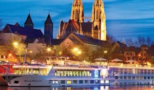 Uniworld tem cruzeiros fluviais de luxo para o Natal europeu