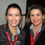 Tatiana Menezes e Fabiana Peres, da Avianca