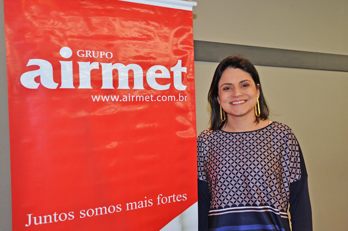 Thaís Aquino, diretora Comercial da Airmet para o Brasil