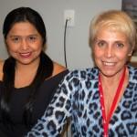 Vilma Narbasta, da Lima Tours e Cristina Kler, da BG tour