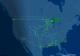 Em voo teste, Boeing desenha aeronave comercial no espaço aéreo dos EUA