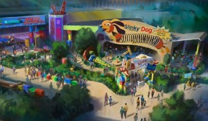 Disney finaliza trilhos do Slinky Dog Dash no Toy Story Land; vídeo