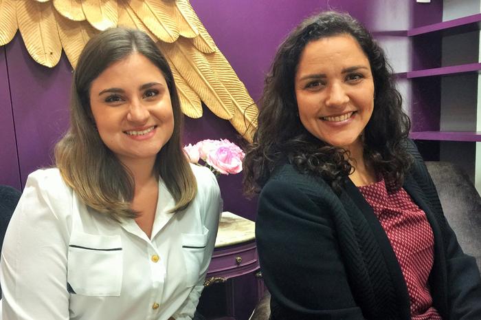 Juliana Bordin e Gabriela Doss