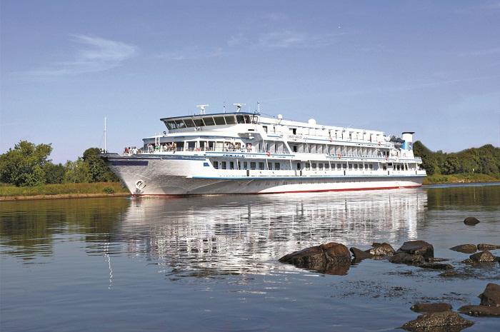 Navio da Scenic Luxury Cruises & Tour