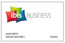 AccorHotels apresentam o ibis Business Card